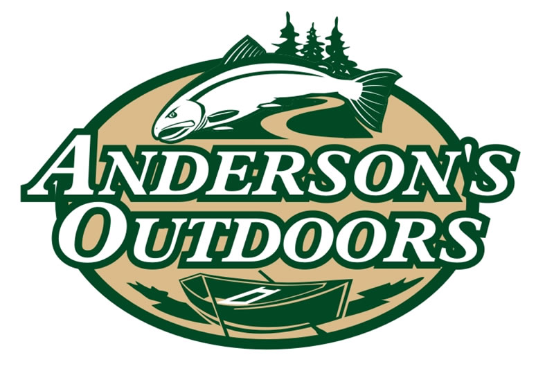 Anderson's Outdoors Logo by Coho Design