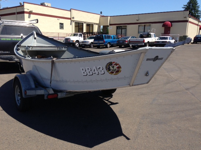 BB 43 Custom Boat Wrap by Coho Design