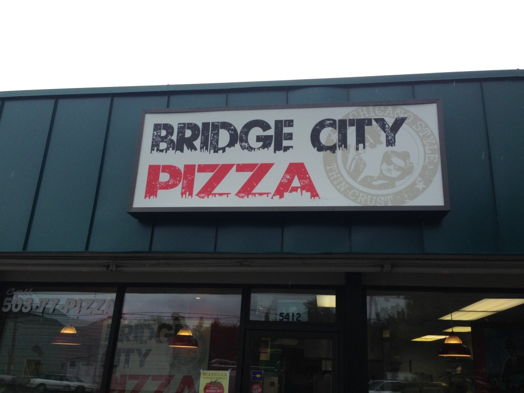 Bridge City Pizza by Coho Design