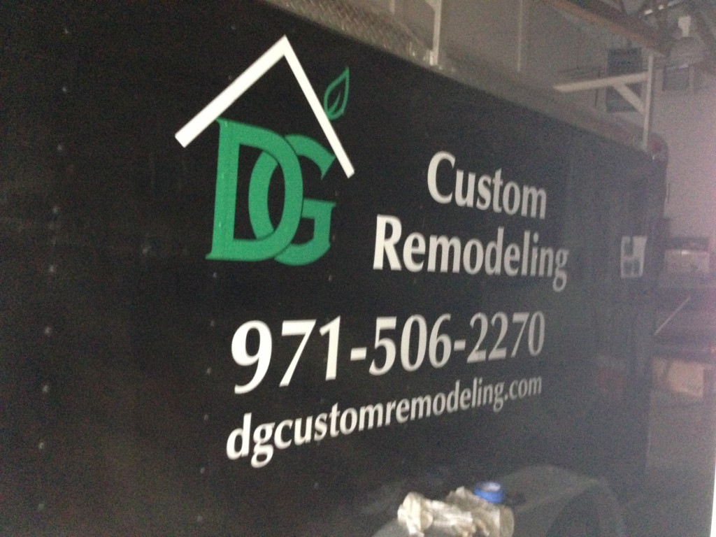 Custom Remodeling Truck Decal By Coho Design