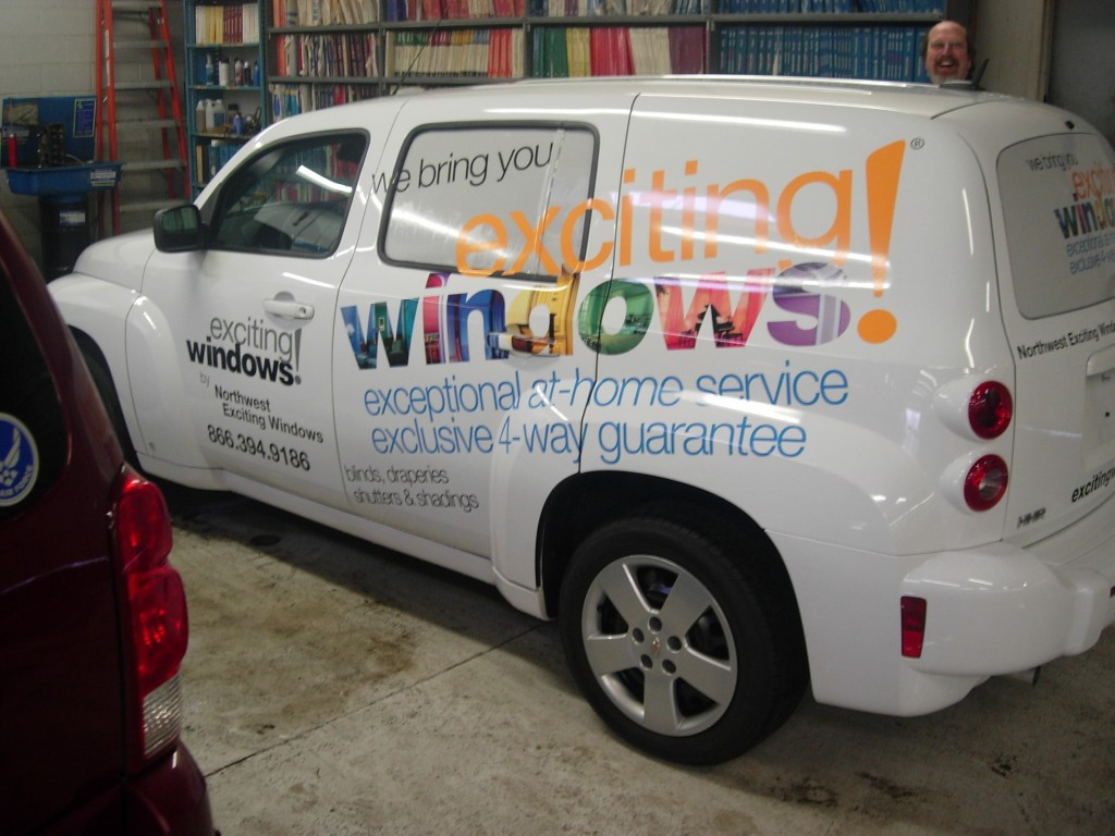 Exciting Windows Truck Decal By Coho Design