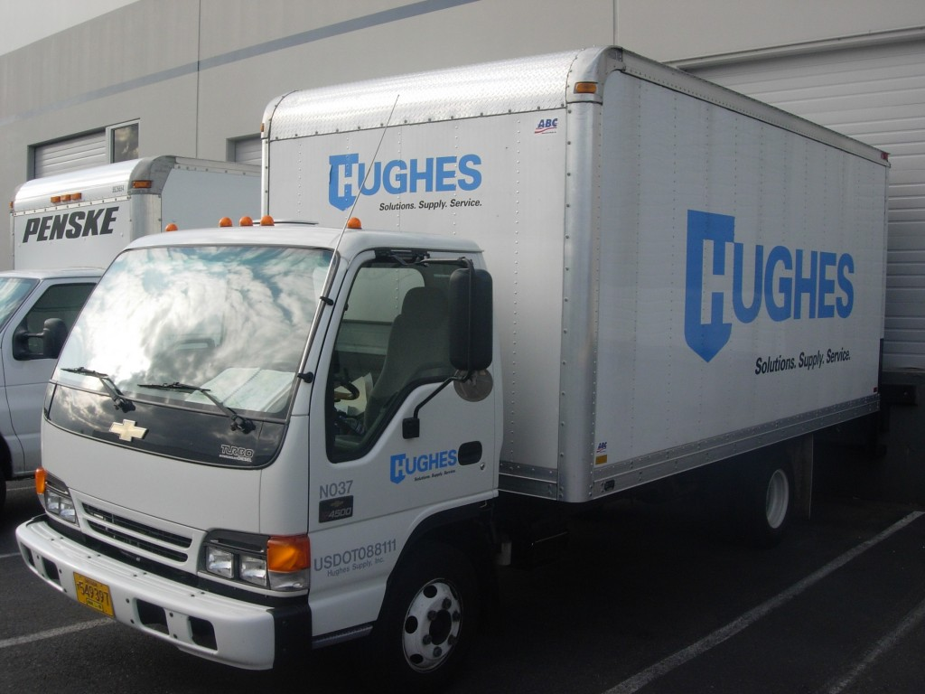 Hughes Truck Decal By Coho Design