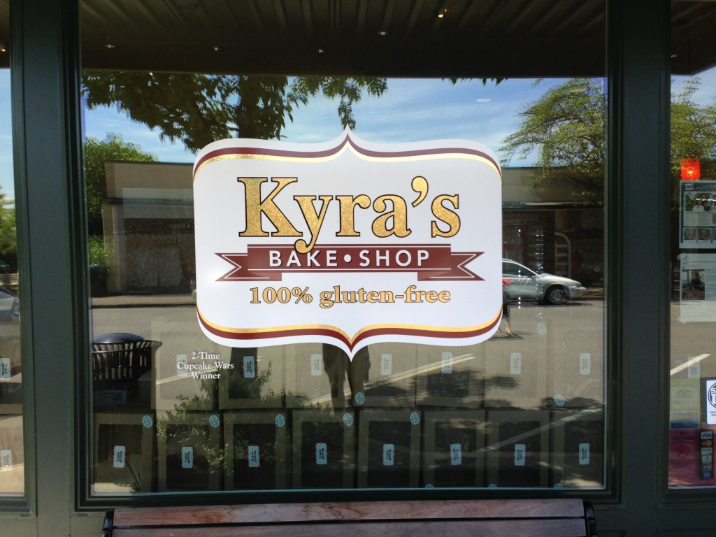 Kyras Bakeshop Signage by Coho Design