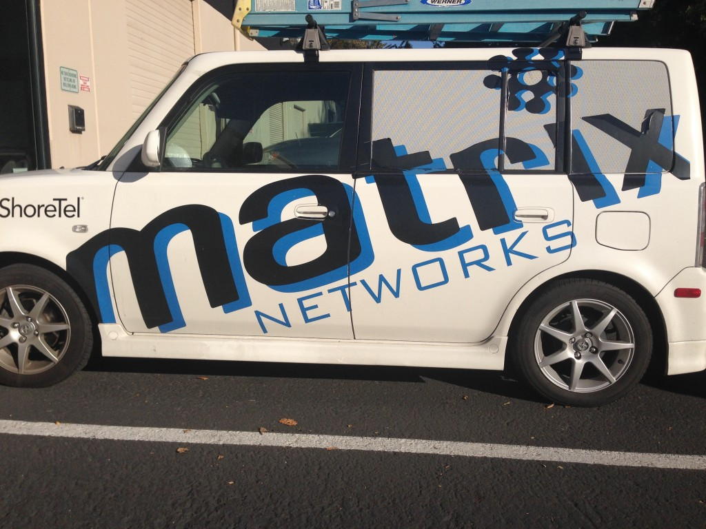Matrix Networks Truck Decal By Coho Design