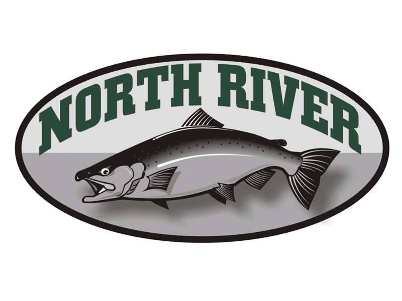 North River Logo by Coho Design