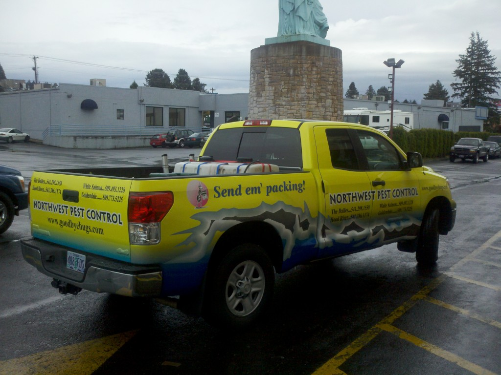 Northwest Pest Control Truck Decal By Coho Design