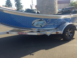 St. Laurent Boat Wrap by Coho Design