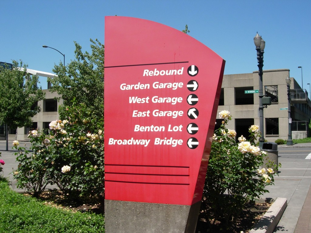 Directional Sign by Coho Design