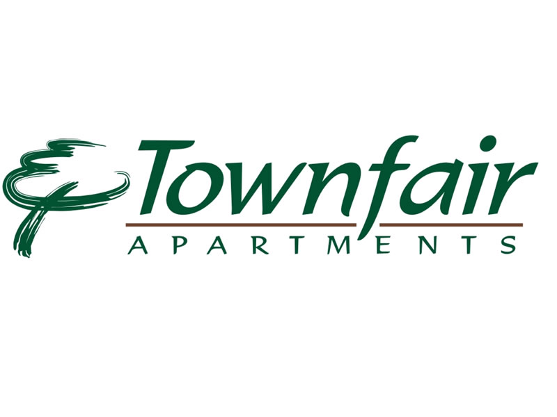 Townfair Apartments Logo by Coho Design