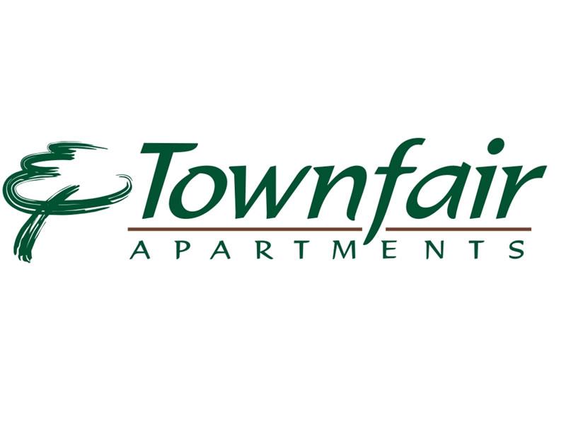 Townfair Apartments Logo by Coho Design