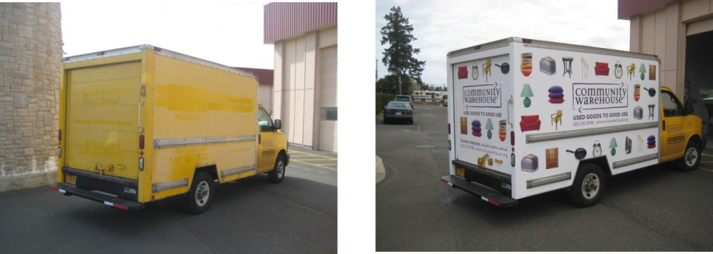 Truck Wrap By Coho Design