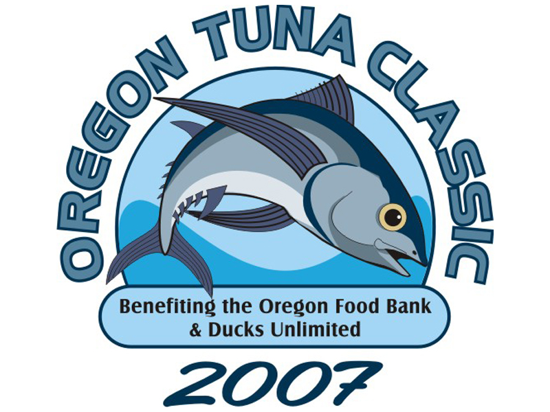 2007 Oregon Tuna Classic Logo by Coho Design