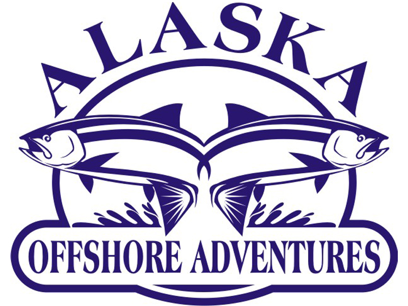Alaska Offshore Adventures Logo by Coho Design