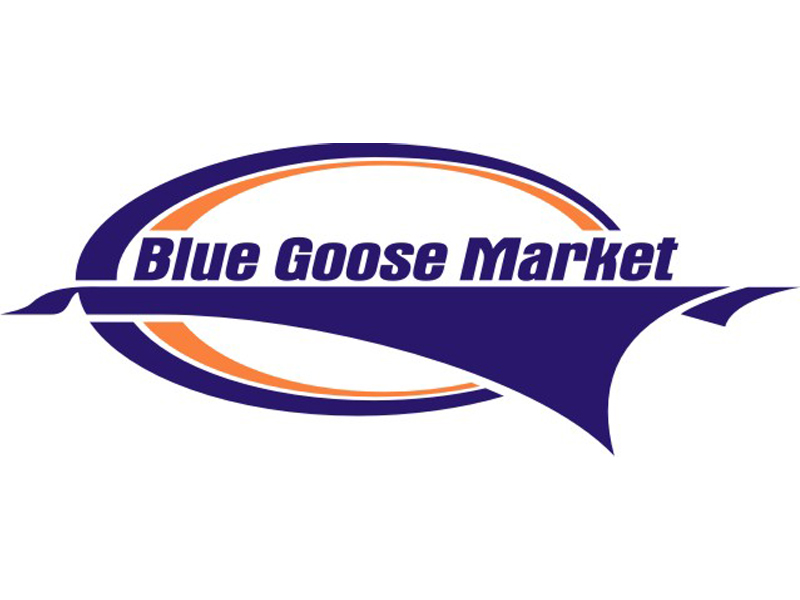 Blue Goose Market Logo by Coho Design