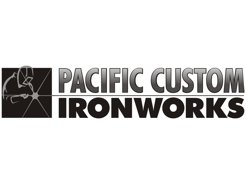 Pacific Custom Ironworks Logo by Coho Design