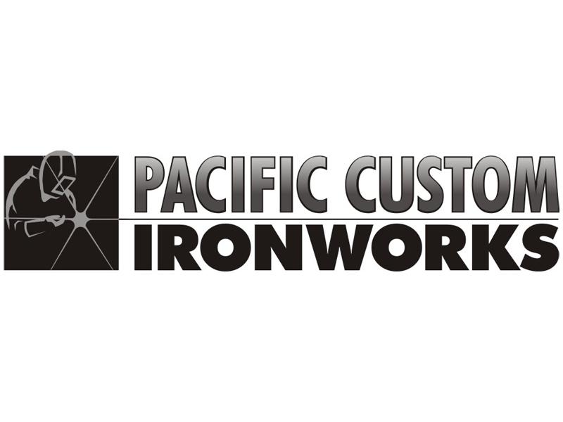 Pacific Custom Ironworks Logo by Coho Design