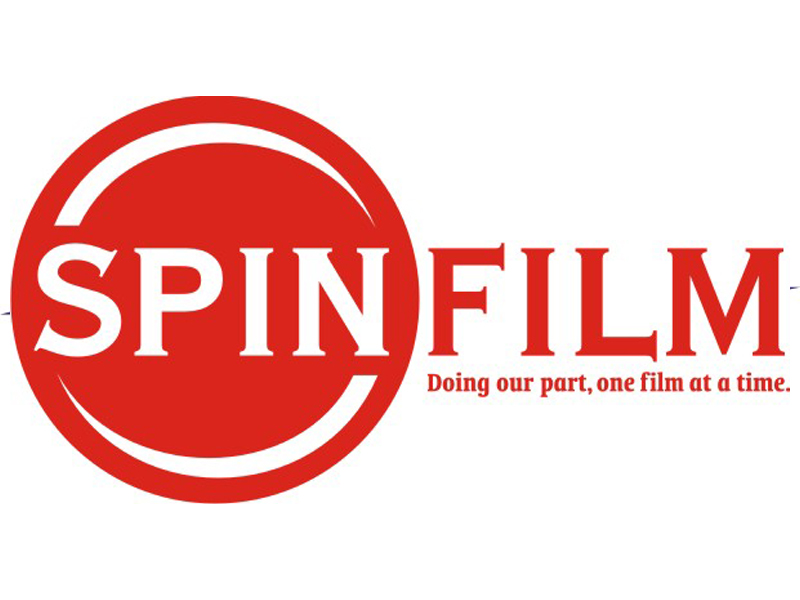 Spin Film Logo by Coho Design