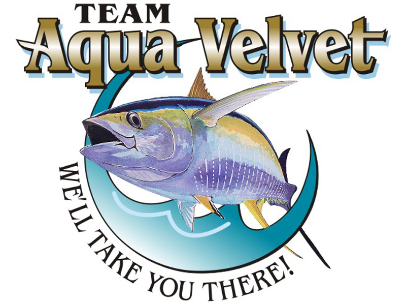 Team Aqua Velvet Logo by Coho Design